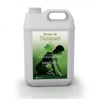 Botella 5 litros hammam vapor de eucalipto Camylle