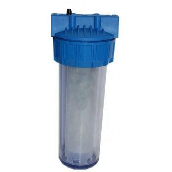 Porta filtro + protezione anti calcare silicophosphate 200 m 3 di trattamento