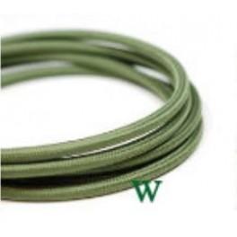 Green vintage woven wire cloth retro look