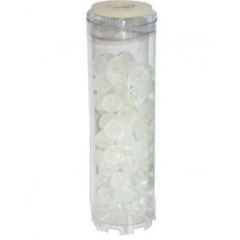 Carga para filtro anti piedra caliza