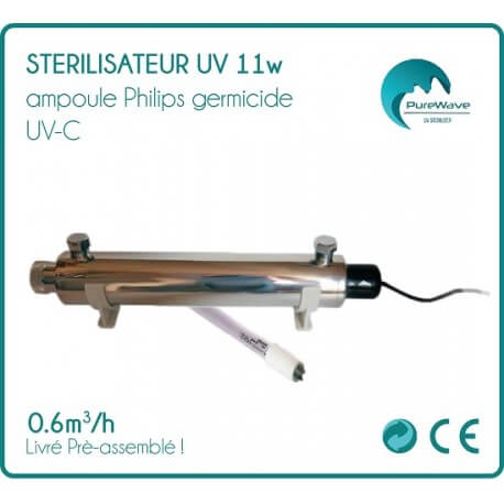 Sterilizer UV 11w bulb Philips