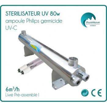 Stérilisateur UV 80w ampoule Philips germicide UV-C