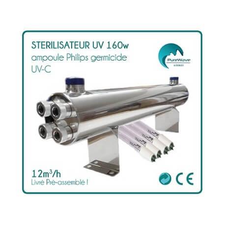 Sterilizer UV 160w bulb Philips germicidal UV - C