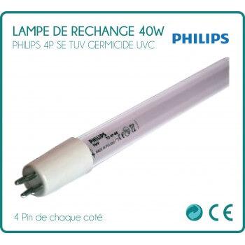 Lampe de rechange 40W Philips pour stérilisateur UV