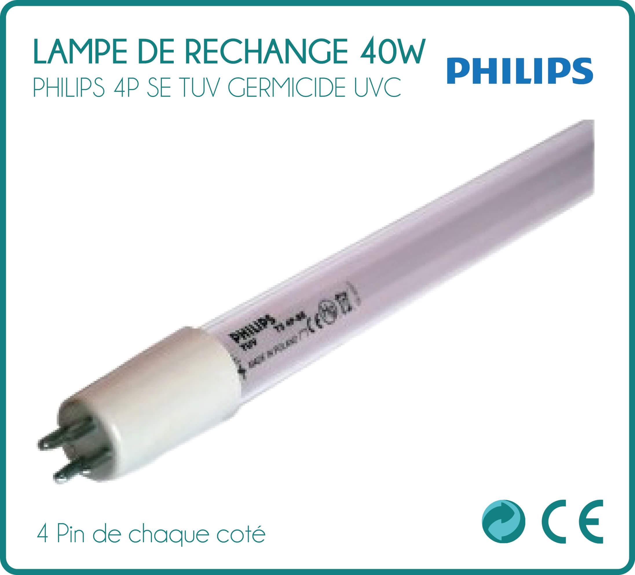Ultraviolet UV Ampoule 6 W pour Eau de stérilisation système Set de 2
