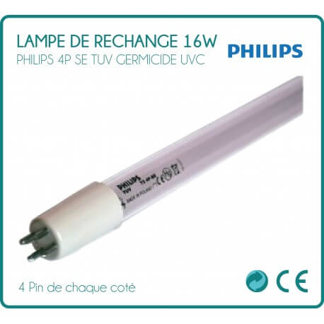 Replacement Philips 16W for steriliser UV lamp