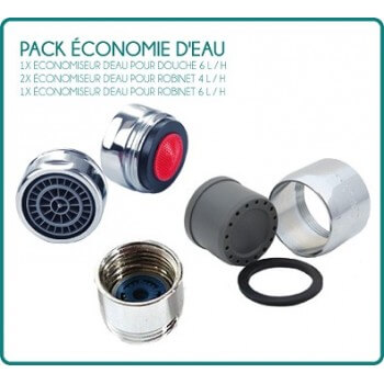 Pack économie d'eau