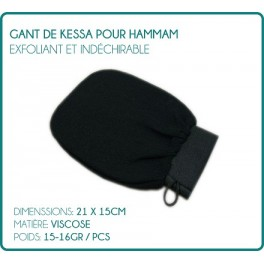 Glove Kessa for Hammam body scrub and tear