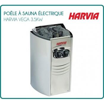 Poêle à Sauna électrique HARVIA VEGA compact 3.5 Kw