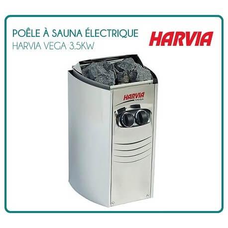 HARVIA VEGA compact 3.5 Kw electric Sauna stove