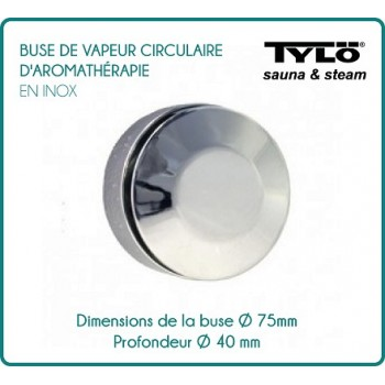 Kreisförmige Aromatherapie TYLÖ Dampfdüse