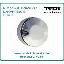 Circular aromatherapy TYLÖ steam nozzle