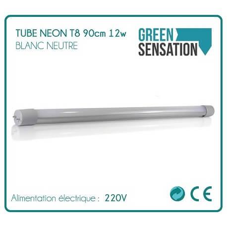 Tube Neon T8 LED 90cm 12W 1050Lm neutral white