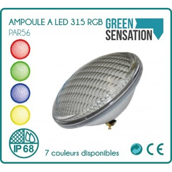Bulb PAR56 RGB color for pool for remote control long reach (not included)