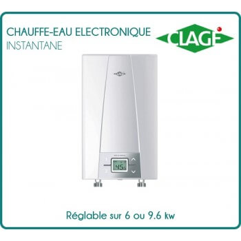 Heater electronic recycling for shower and sink - CEX 9 ELECTRONIC MPS 6