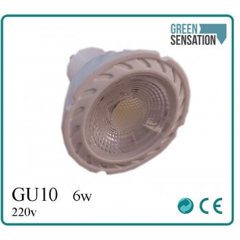 LED GU10 blanco punto 6 incorporado neutral W 220 V