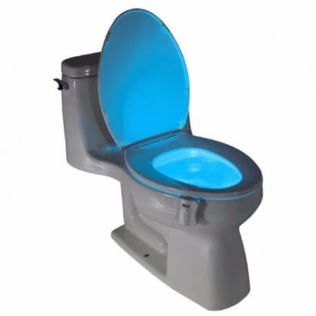 Led lighting 8couleurs for WC motion for Bowl, seat toilet, washbasin