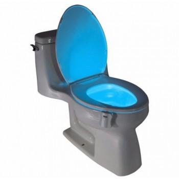 Packung mit 3 x 8-farbige LED-Beleuchtung für WC, mit Bewegungmelder für  WC-Sitz,  WC-Becken
