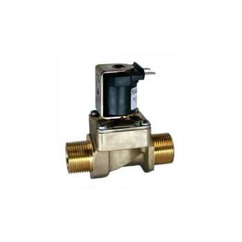 Solenoid valve for evacuation of water for steam generator