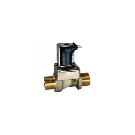 Electrovanne d'evacuation d'eau pour generateur de vapeur