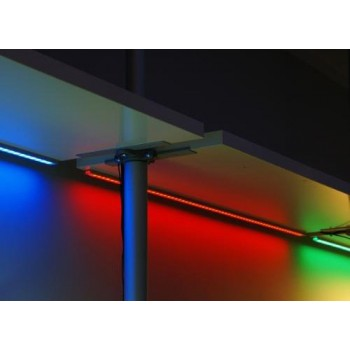 Set of 3 strips led colors 1 m RGB with remote control waterproof IP65 + transformer offered!