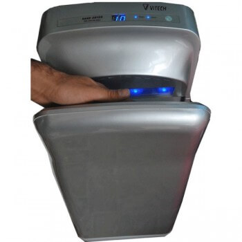 Dry hands Vitech double air-jet HD grey
