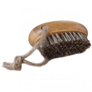 Confezione di 3 spazzole per unghie RENTO bambù
