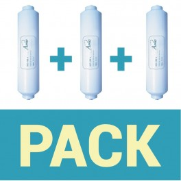 Pack of 3 filters refrigerator apic aic - 100 b