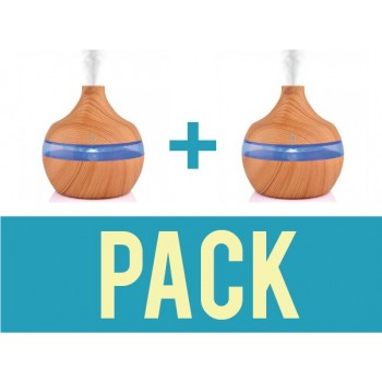 Pack of 2 to 300ml aromatherapy essential oil diffusers