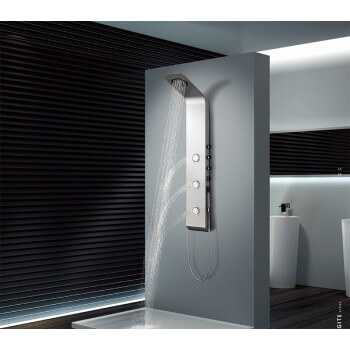 Colonne de douche balnéo (1400*220mm) Panneau en alliage d'aluminium ÉPAISSEUR-4mm