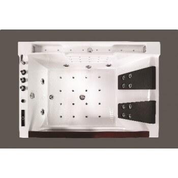 Baignoire balnéothérapie full option 1800x900x640mm Lutèce