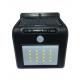 Spot panneau solaire détecteur de mouvement éclairant grâce à l'énergie solaire