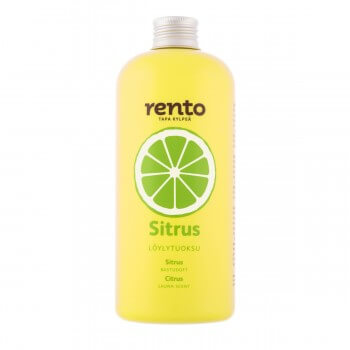 Gasoline for Sauna RENTO to citrus (400ml)