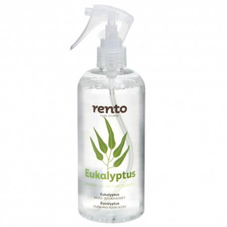 Eucalyptus oil spray for sauna and parts - Rento (400ml)