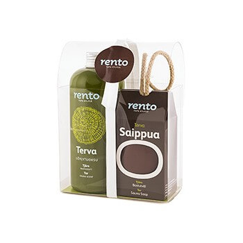 """Terva"" gasoline Gift Pack 400ml + SOAP for Sauna Rento"