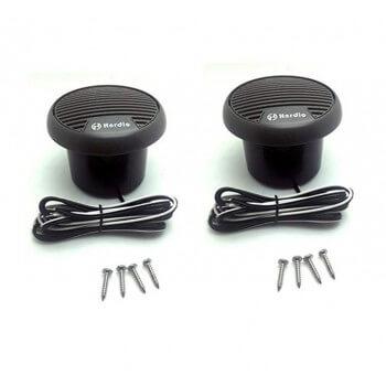 Wasserdichte Lautsprecher 2 x 70W mit Hauptsteuerbox USB, Hi-Fi, Bluetooth,  Radio