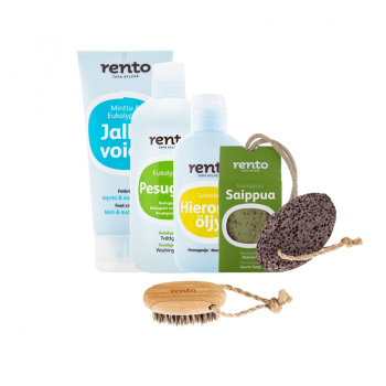 Pack Rento for sauna shower hammam body treatment