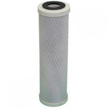 Cartouche charbon actif  + sédiment 5 microns pour porte filtre 9-3/4 - 10 Pouces