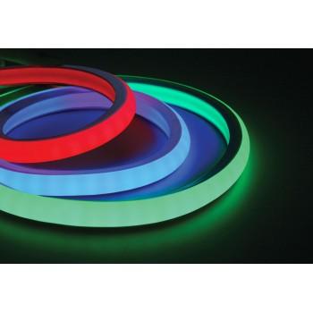 Ruban led RGB gainé 220V au mètre + adaptateur 220V fournis