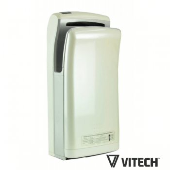 Automatic hand dryers Vitech double quick drying white 1800W air jet
