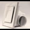 Extracteur d'air 25x25x18 cm 30W 220V ultra silencieux pour salle de bain, cuisine ou tout milieux humides