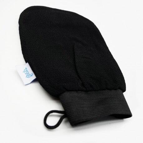 Lot of 10 gloves Kessa for Hammam black Exfoliating Scrub