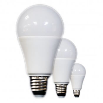 Pack of 3 bulbs 12W E27 A60 (equivalent to 80W incandescent)