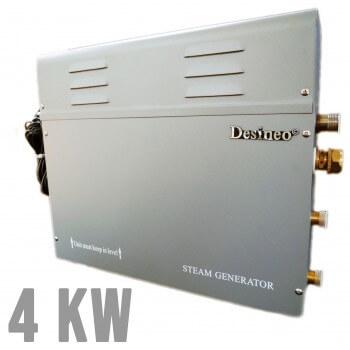 Desineo 4Kw Dampfgenerator  für Hammam, Spa, Dampfmaschine, Sauna, Dampferzeuger für Hamam Dampfbad Wellness