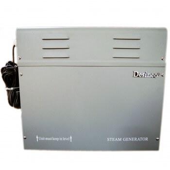Desineo 6Kw Dampfgenerator für Hammam, Spa, Dampfmaschine, Sauna, Dampferzeuger für Hamam Dampfbad Wellness