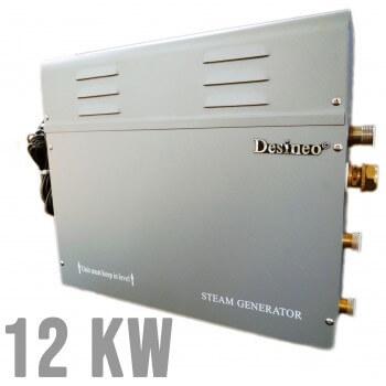 Dampfgenerator  Desineo 12 Kw (12 bis 18 M3) für Hammam, Spa, Dampfmaschine, Sauna, Dampferzeuger für Hamam Dampfbad Wellness