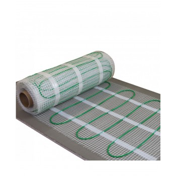 Electric heating floor 2m2 for valstorm tile or cap 150W / m2 230V