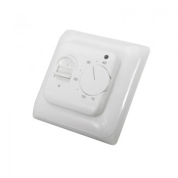 Analog Thermostat 16A 230V for heated flooring, floor heating