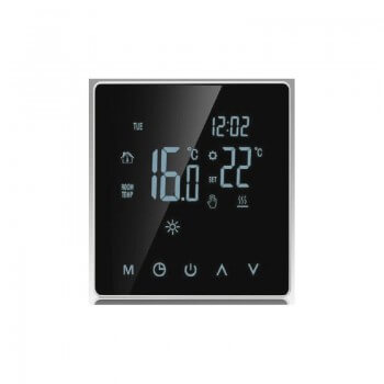 Touch Thermostat 16A 230V digital display for heated floor, floor heating