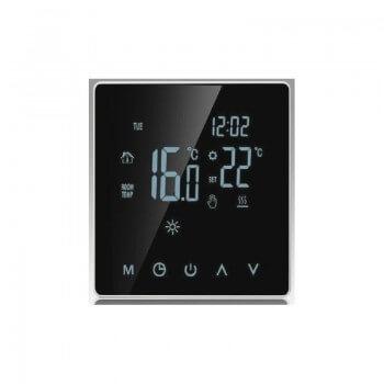 Thermostat tactile 16A 230V affichage digitale pour plancher chauffant, chauffage au sol